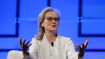 Academy Award-winning actress Meryl Streep speaks, Thursday, Dec. 7, 2017, during the 13th annual Massachusetts Conference for Women, in Boston. The conference opened Thursday against a backdrop of expanding allegations of sexual misconduct against prominent men in Hollywood, politics and the media. (AP Photo/Steven Senne)