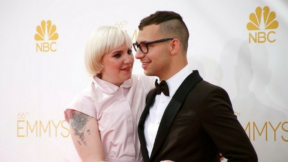 Lena Dunham and her ex-boyfriend Jack Antonoff have been talking following her surgery.