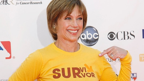 "Former U.S. figure skating Olympic champion Dorothy Hamill poses at the ""Stand Up To Cancer"" television event aimed at raising funds to accelerate innovative cancer research at the Sony Studios Lot in Culver City, California, September 10, 2010. The one-hour live commercial-free fundraising event was aired across multiple broadcast and cable channels at the same time. REUTERS/Danny Moloshok (UNITED STATES - Tags: ENTERTAINMENT SPORT) - GM1E69B0OD701"