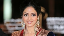 FILE - In this Dec. 1, 2012 file photo, Indian actress Sridevi arrives at the Marrakech International Film Festival in Marrakech, at the Marrakech Congress Palace.