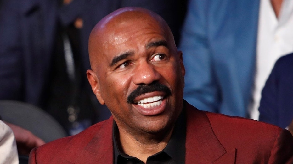 "Steve Harvey said he ""celebrated"" the Oscars debacle last year because it got him ""off the hook"" for his own 2015 Miss Universe mishap."