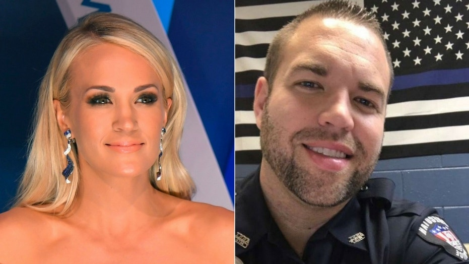 Carrie Underwood donated $10,000 to help pay for medical bills for Checotah Assistant Police Chief Justin Durrett.