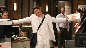 Pilot -- Upon learning that Leslie is expecting, Chip goes to the bookstore seeking parenting guidance, and stumbles upon a bible which inspires him to begin living strictly by the book, on the series premiere of LIVING BIBLICALLY, Monday, Feb 26 (9:30-10:00 PM, ET/PT) on the CBS Television Network. Pictured: Jay R. Ferguson as Chip Photo: Michael Yarish/CBS ©2017 CBS Broadcasting, Inc. All Rights Reserved