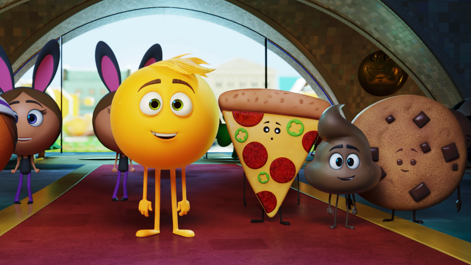 """""""The Emoji Movie"""" has received Hollywood's most famous frown, the Razzie Award, for worst picture of 2017."""