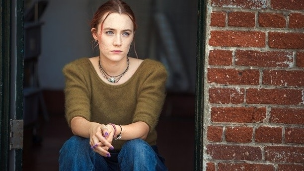 "This image released by A24 Films shows Saoirse Ronan in a scene from ""Lady Bird."" Ronan was nominated for an Oscar for best actress on Tuesday, Jan. 23, 2018. The 90th Oscars will air live on ABC on Sunday, March 4.  (Merie Wallace/A24 via AP)"