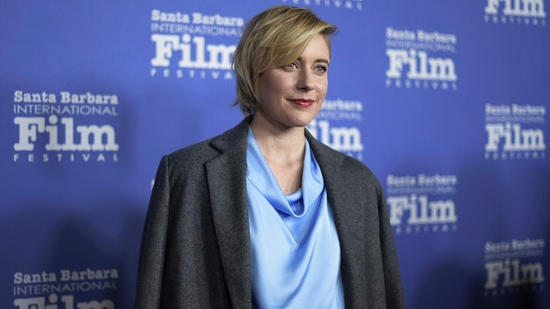 Greta Gerwig attends the 2018 Santa Barbara International Film Festival Outstanding Directors of the Year Award ceremony at the Arlington Theatre on Tuesday, Feb. 6, 2018, in Santa Barbara, Calif. (Photo by Richard Shotwell/Invision/AP)