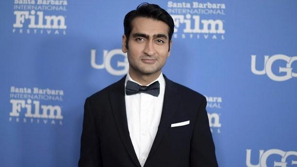 Kumail Nanjiani attends the 2018 Santa Barbara International Film Festival Virtuosos Award ceremony at the Arlington Theatre on Saturday, Feb. 3, 2018, in Santa Barbara, Calif. (Photo by Richard Shotwell/Invision/AP)