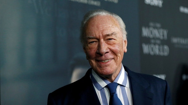 "Cast member Christopher Plummer poses at the premiere for ""All the Money in the World"" in Beverly Hills, California, U.S., December 18, 2017. REUTERS/Mario Anzuoni - RC1236D765C0"