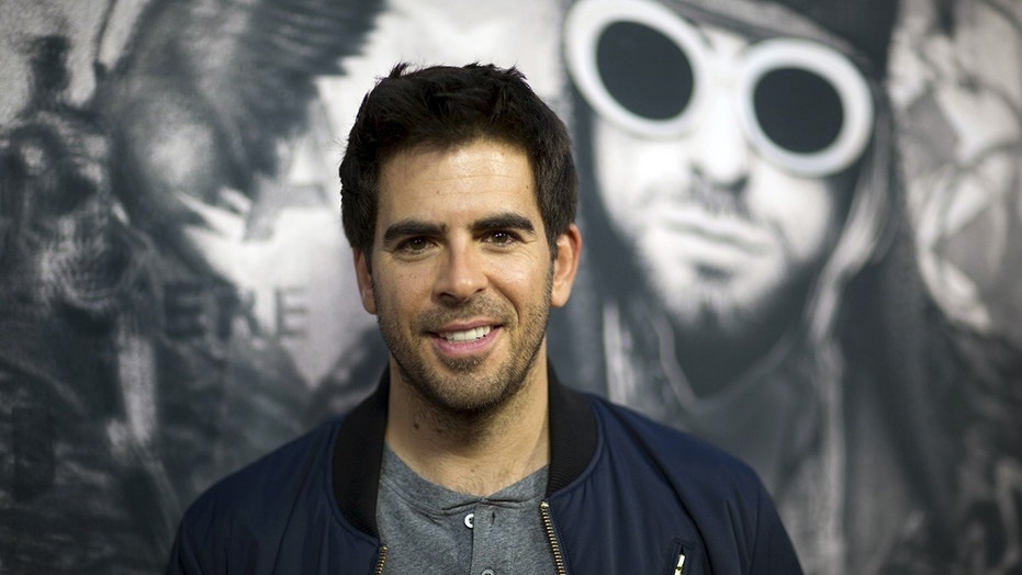"""Actor Eli Roth poses at the premiere of """"Kurt Cobain: Montage of Heck"""" at the Egyptian theatre in Hollywood, California April 21, 2015. REUTERS/Mario Anzuoni - GF10000068222"""