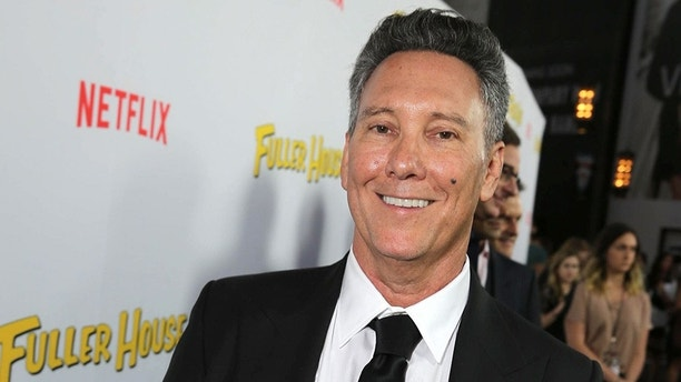 """Exec. Producer Jeff Franklin seen at Netflix Premiere of """"Fuller House"""" at The Grove - Pacific Theatres on Tuesday, February 16, 2016, in Los Angeles, CA. (Photo by Eric Charbonneau/Invision for Netflix/AP Images)"""