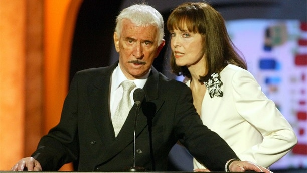 "Actors Don Adams and Barbara Feldon, stars of the television show ""Get
