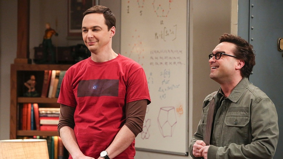 """The Athenaeum Allocation""- Pictured: Sheldon Cooper (Jim Parsons) and Leonard Hofstadter (Johnny Galecki). Leonard jumps through hoops to help secure the perfect wedding venue for Sheldon and Amy. Also, Bernadette and Wolowitz have a hard time deciding who should stay at home with the kids and who should go back to work, on THE BIG BANG THEORY, Thursday, March 8 (8:00-8:31 PM, ET/PT) on the CBS Television Network. John Ross Bowie returns as Kripke. Photo: Michael Yarish/Warner Bros. Entertainment Inc. © 2018 WBEI. All rights reserved."