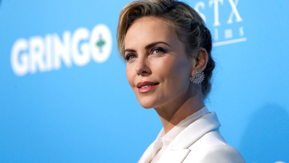 Charlize Theron's Mom Scored Her Some Weed