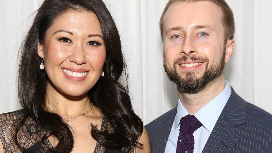 Ruthie Ann Miles with husband Jonathan Blumenstein attend the 2016 New York City Center Gala at the Plaza Hotel on October 24, 2016 in New York City.