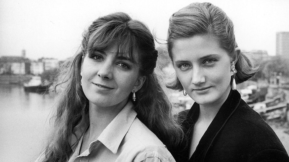 May 1985: Daughters of actress Vanessa Redgrave (L-R) Natasha Richardson & Joely Richardson.