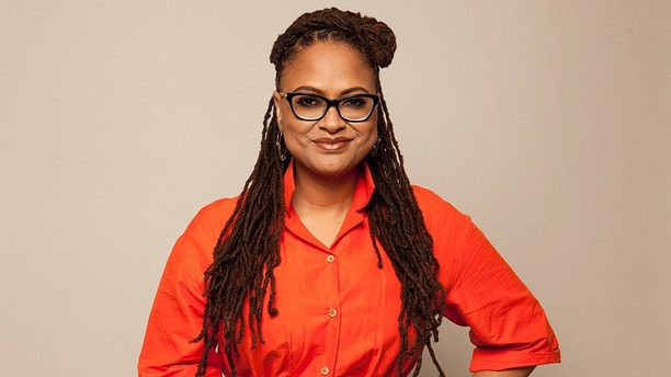 "In this Feb. 25, 2018 photo, Director Ava DuVernay poses for a portrait at The W Hotel in Los Angeles to promote her film, ""A Wrinkle in Time."" The film opens March 9. (Photo by [Rebecca Cabage/Invision/AP)"
