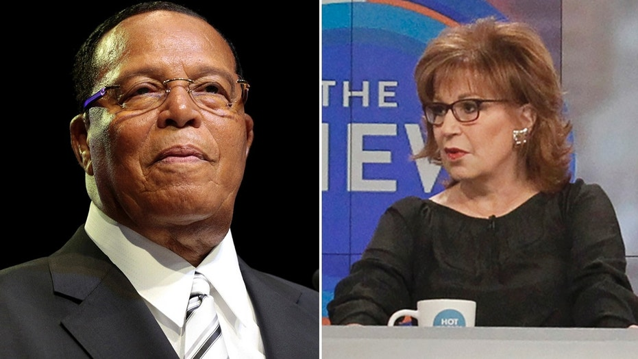 Louis Farrakhan and Joy Behar.