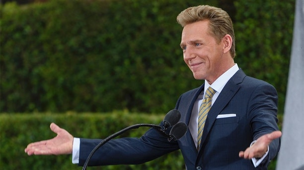 SAN DIEGO, CA - NOVEMBER 19:  In this handout photo provided by the Church of Scientology, David Miscavige, Chairman of the Board Religious Technology Center and ecclesiastical leader of the Scientology religion dedicates a new Church of Scientology November 19, 2016 in San Diego, California. (Photo by Church of Scientology via Getty Images)