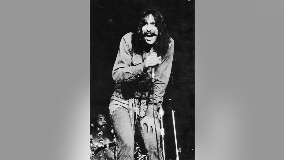 Singer Chuck Negron performing with Three Dog Night.
