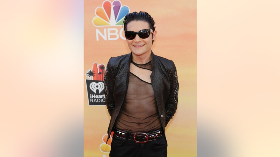 Actor Corey Feldman arrives at the iHeartRadio Music Awards in Los Angeles, California May 1, 2014.