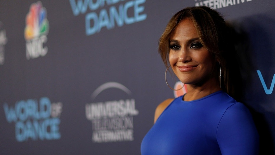 "Judge Jennifer Lopez poses at an event for the television series ""World of Dance"" in West Hollywood, California, U.S., September 19, 2017."