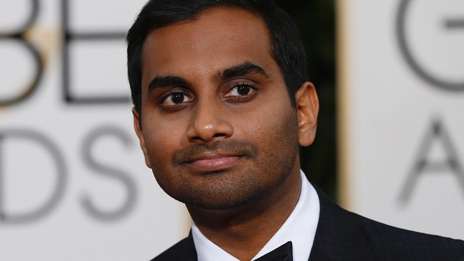 Actor Aziz Ansari arrives at the 73rd Golden Globe Awards in Beverly Hills, California January 10, 2016.