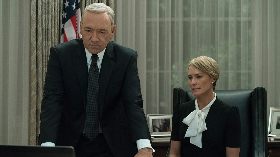 'House of Cards' stars Kevin Spacey and Robin Wright