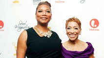 Cast member Queen Latifah (L) and her mother Rita Owens attend Lifetime Network's 'Steel Magnolias' premiere event in New York October 3, 2012. REUTERS/Andrew Kelly (UNITED STATES - Tags: ENTERTAINMENT) - GM1E8A40XMI01