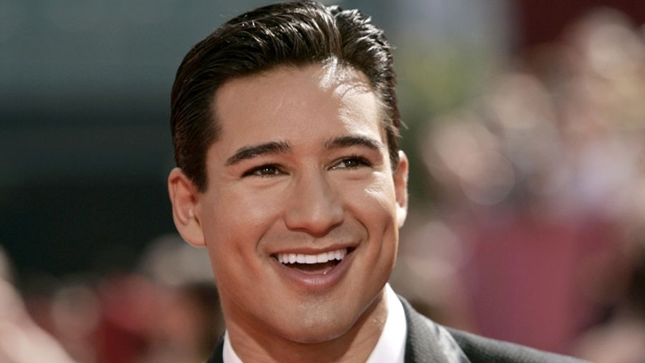 "Mario Lopez was baptized in the same river as Jesus during his ""bucket-list"" trip to the Holy Land."