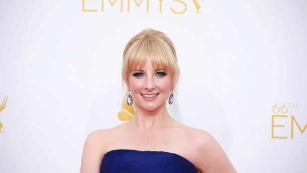 Melissa Rauch arrives at the 66th Primetime Emmy Awards in Los Angeles, California August 25, 2014.  REUTERS/Lucy Nicholson (UNITED STATES -Tags: ENTERTAINMENT)(EMMYS-ARRIVALS) - RTR43PQP