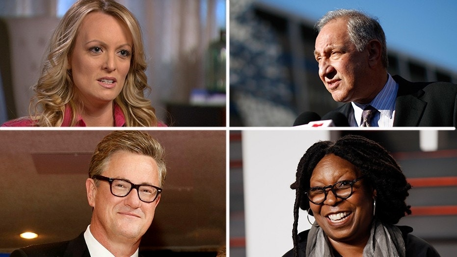 """Stormy Daniels' interview on """"60 Minutes"""" didn't impress CNN's Mark Geragos, MSNBC's Joe Scarborough or """"The View"""" co-host Whoopi Goldberg."""