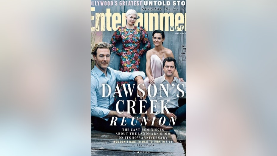 Dawson's Creek casts reunites for the first time since show's end in 2003.