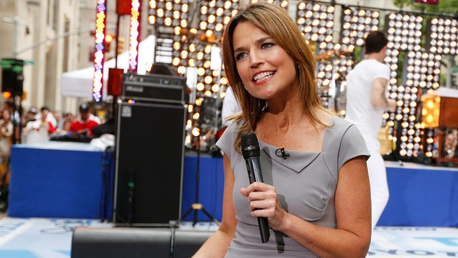 Savannah Guthrie apologized after she accidentally cursed while on-air.