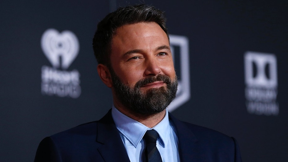 Ben Affleck recently commented on his back tattoo.