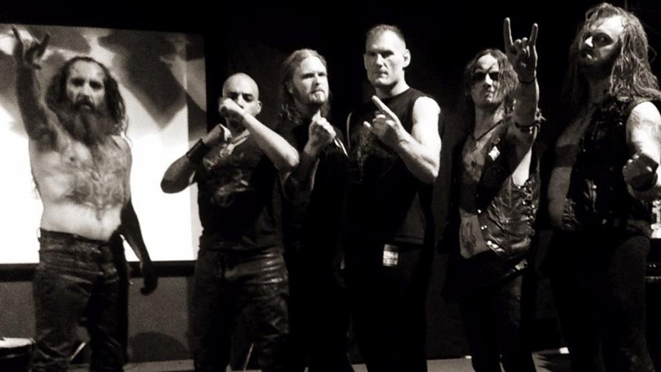 Watain said they temporarily parted ways with the band's guitarist following a circulated photo showing him giving the Nazi salute.