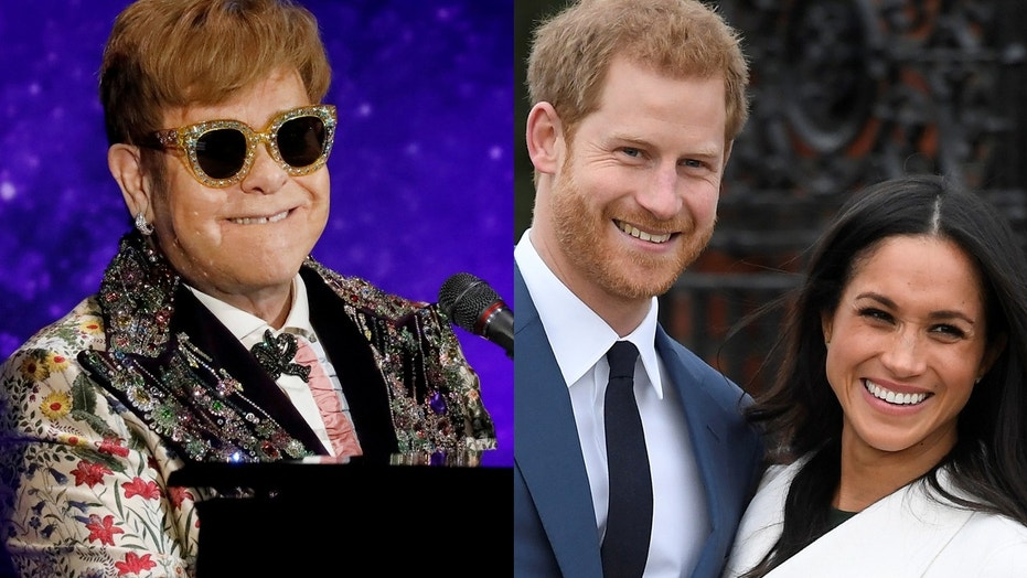 Elton John, who is rumored to perform at the Royal Wedding, says he hasn't received an invite yet.