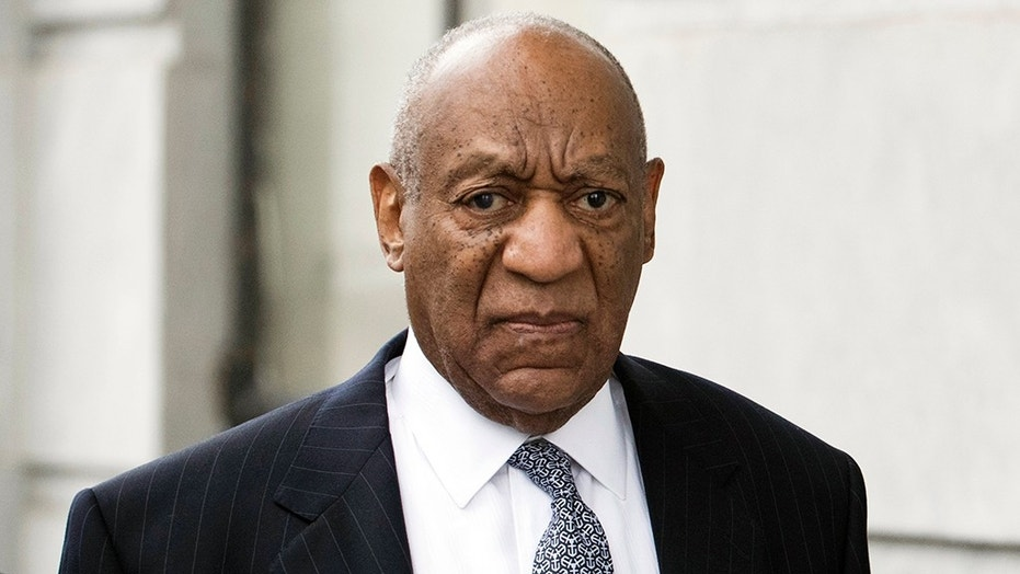 Bill Cosby arrives for his sexual assault case at the Montgomery County Courthouse, Wednesday, April 4, 2018, in Norristown.