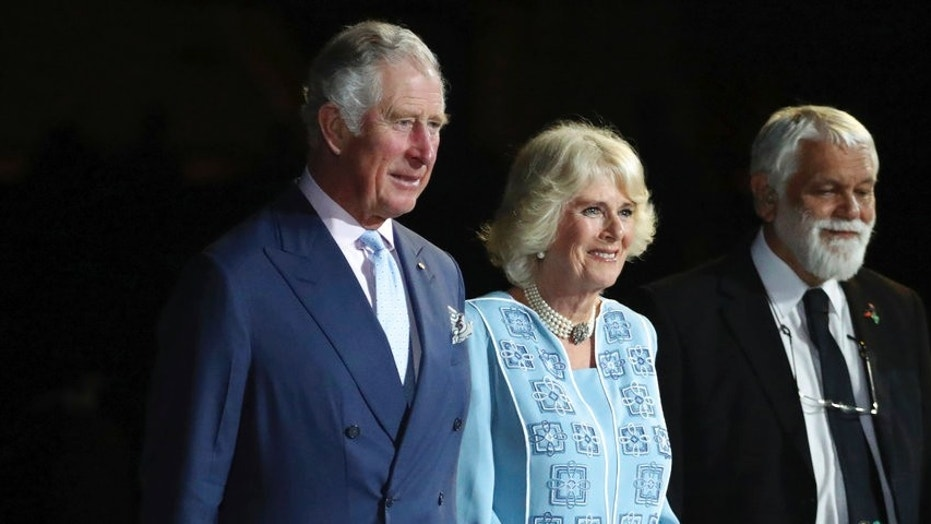 She's off! Camilla ditches Charles ahead of wedding anniversary