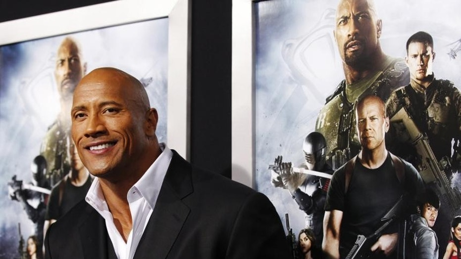 Dwayne Johnson is reportedly thinking about his political future.