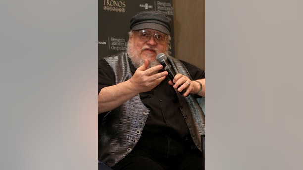 Author and producer George R.R. Martin speaks during a news conference at the Guadalajara International Book Fair (FIL), in Guadalajara, Mexico December 2, 2016.