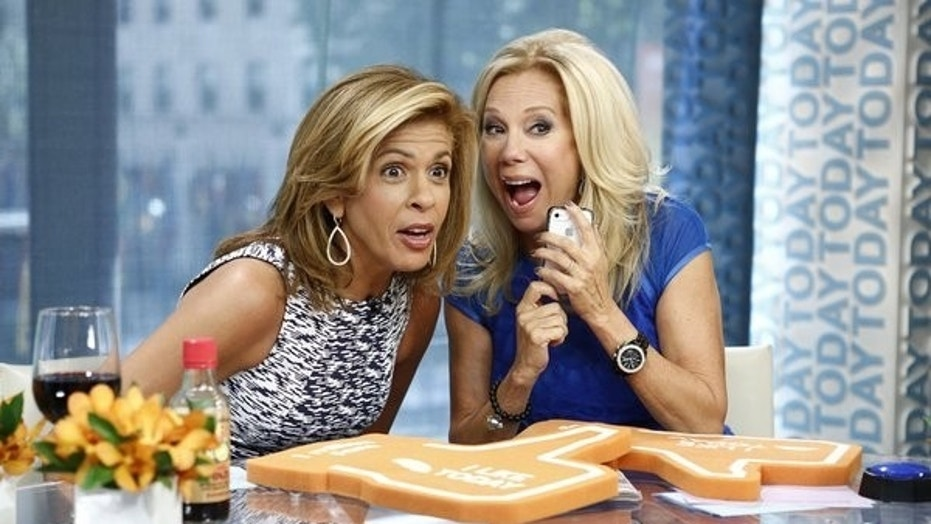 """Hoda Kotb and Kathie Lee Gifford appear on NBC News' """"Today."""""""