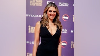 British actor Elizabeth Hurley poses during the opening of the 39th Cairo International Film Festival in Cairo, Egypt November 21, 2017. REUTERS/Amr Abdallah Dalsh - RC1E63D1A1D0