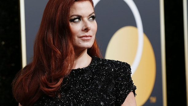 75th Golden Globe Awards – Arrivals – Beverly Hills, California, U.S., 07/01/2018 – Actress Debra Messing.
