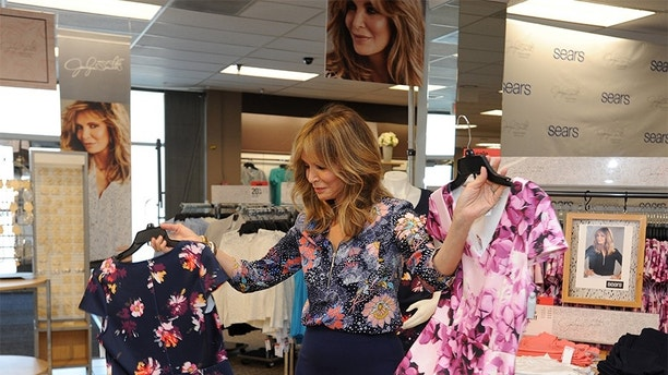 Sears expands its exclusive apparel lines with celebrity brand icon Jaclyn Smith on Thursday, March 15, 2018, in Torrance, Calif. The Jaclyn Smith Ready to Wear collection, which launched in select Sears stores nationwide and online at Sears.com/Jacklyn, was inspired by Smith's everyday life with all women in mind. (Carlos Delgado/AP Images for Sears Holdings Corporation)