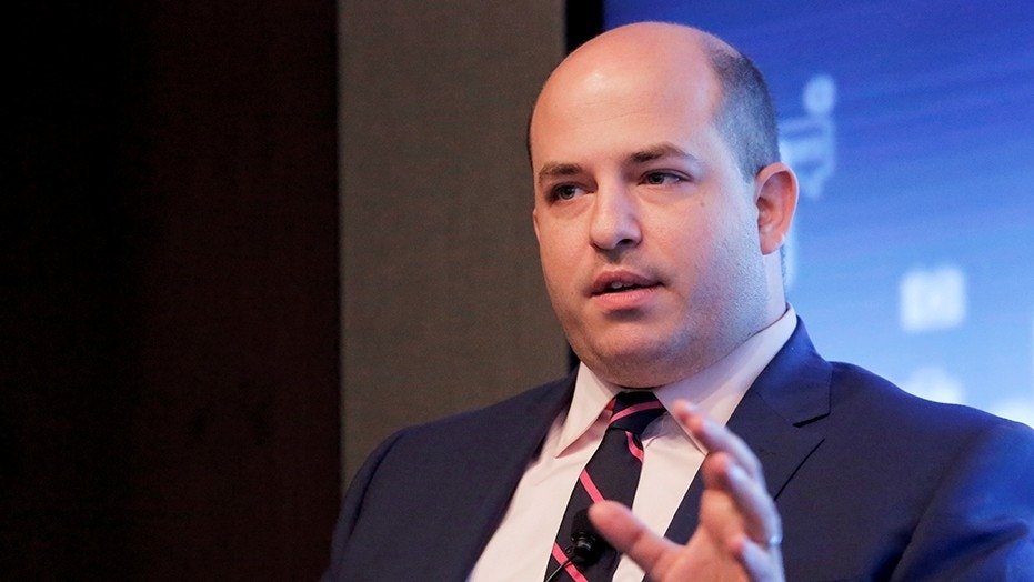 CNN's Brian Stelter has attacked Sinclair Broadcasting for having anchors read a script decrying fake news.