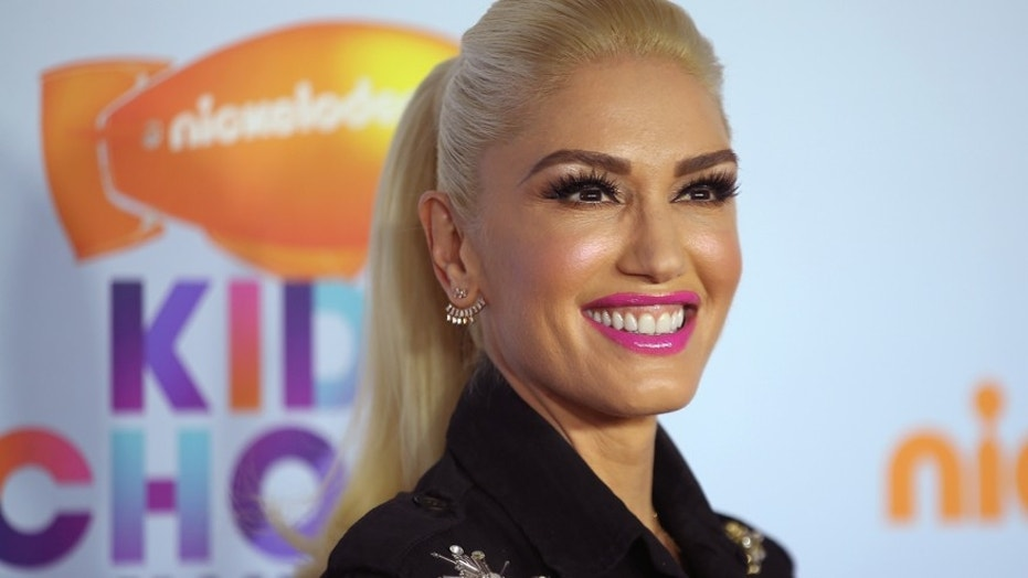 Gwen Stefani at the 2017 Kids' Choice Awards in Los Angeles, Calif.