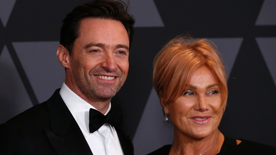 Jackman's sweet tribute to Deborra-lee