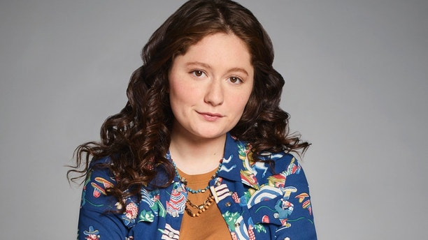 "ROSEANNE - ABC's ""Roseanne"" stars Emma Kenney as Harris Conner. (ABC/Robert Trachtenberg)"
