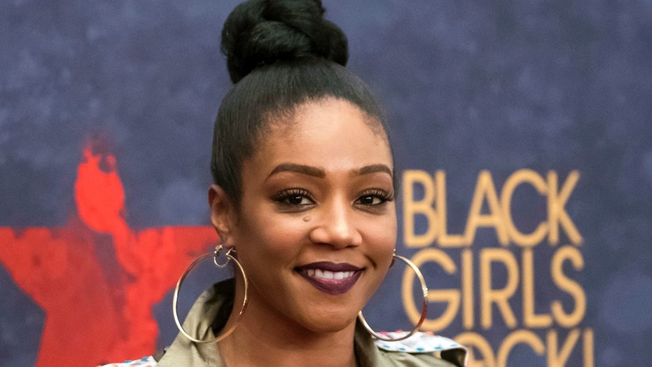 FILE - In this Aug. 5, 2017 file photo, Tiffany Haddish attends the Black Girls Rock! Awards at the New Jersey Performing Arts Center in Newark, N.J. Haddish is set to host the 2018 MTV Movie & TV Awards. The network announced Thursday, Feb. 22, 2018, that the breakout star will host the ceremony in Los Angeles on June 18. (Photo by Charles Sykes/Invision/AP, File)  (2017 Invision)