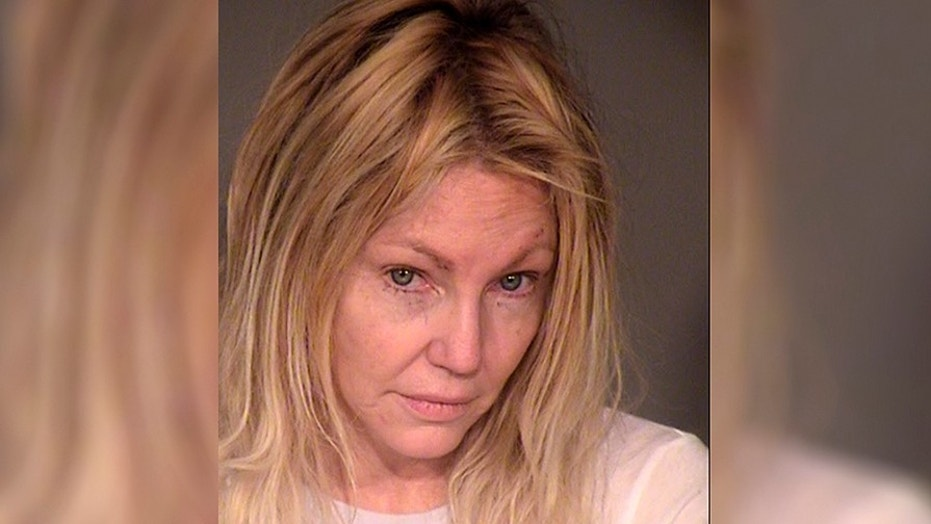 Heather Locklear has plead not guilty to charges of battery on an officer.